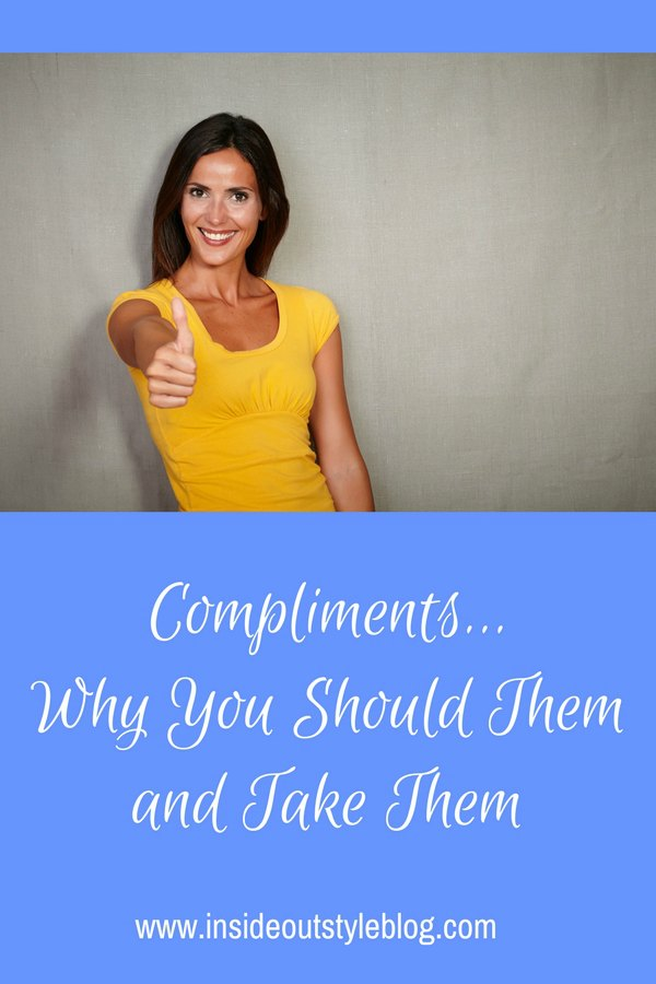 Compliments - Why You Should Give Them and Take Them