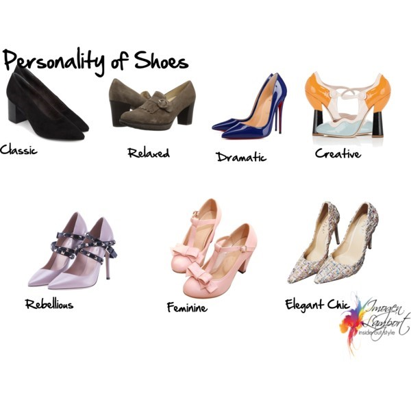 Understanding the personality of shoes