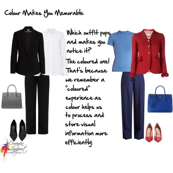 Why wearing colours makes you more memorable