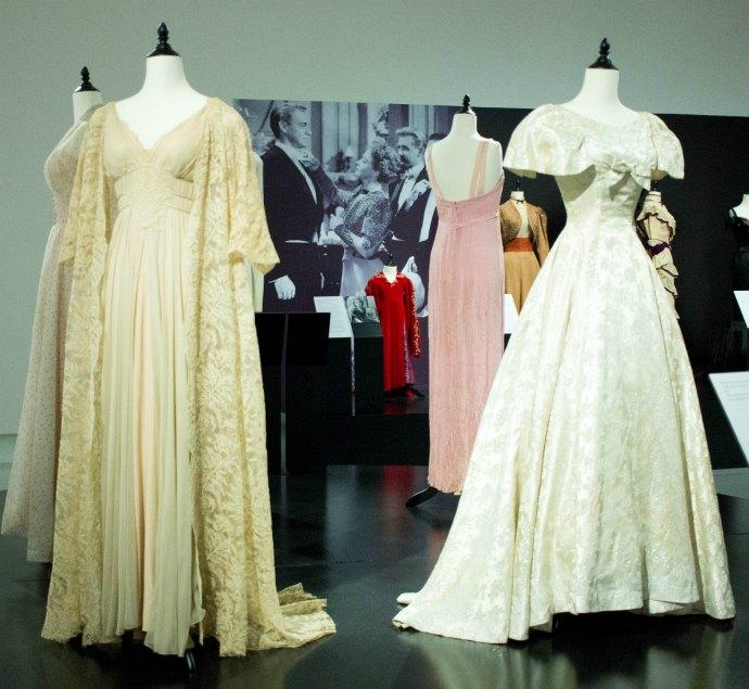 Stunning costumes by Hollywood Academy Award Winning designer Edith Head at Bendigo Art Gallery