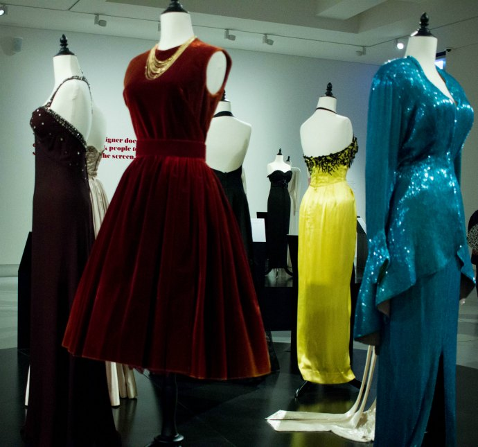 Stunning costumes by Hollywood Academy Award Winning designer Edith Head at Bendigo Art Gallery