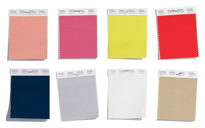 Pantone 2018 colours that have been in fashion for the past season or so that you'll keep seing