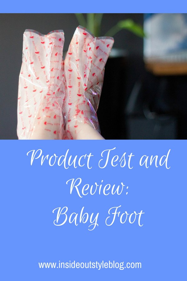 Product test and review of Baby Foot natural exfoliant