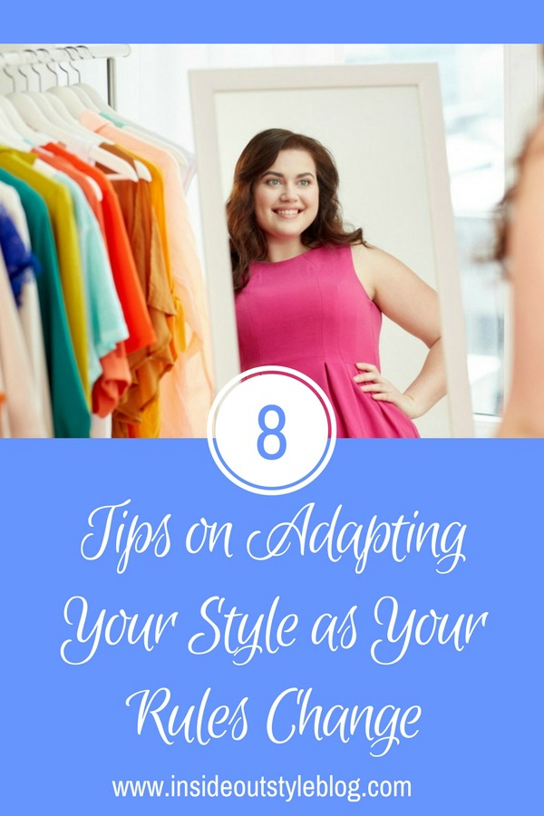 8 tips on adapting your style as your rules change