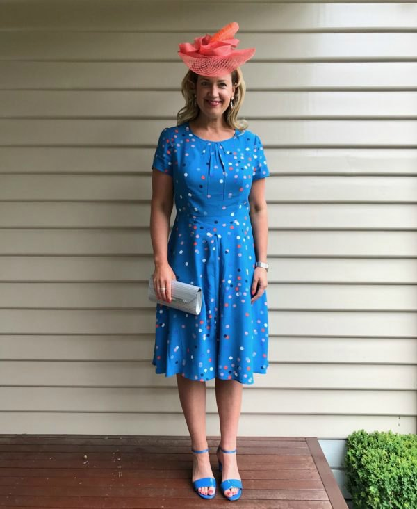 How to figure out what colour a garment is when online shopping - this is the Boden Calissa dress
