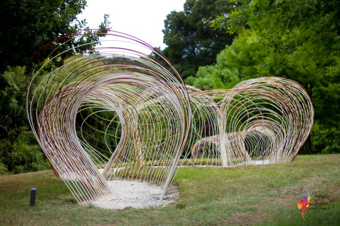 What's at Brick Bay winery and sculpture trail? Is it worth a visit? 2016 Folly