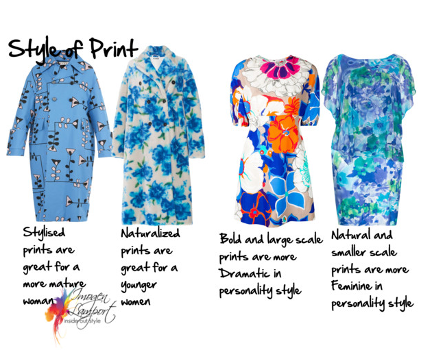 How to choose the right floral print for you - understanding the elements of floral prints so you can choose the right ones