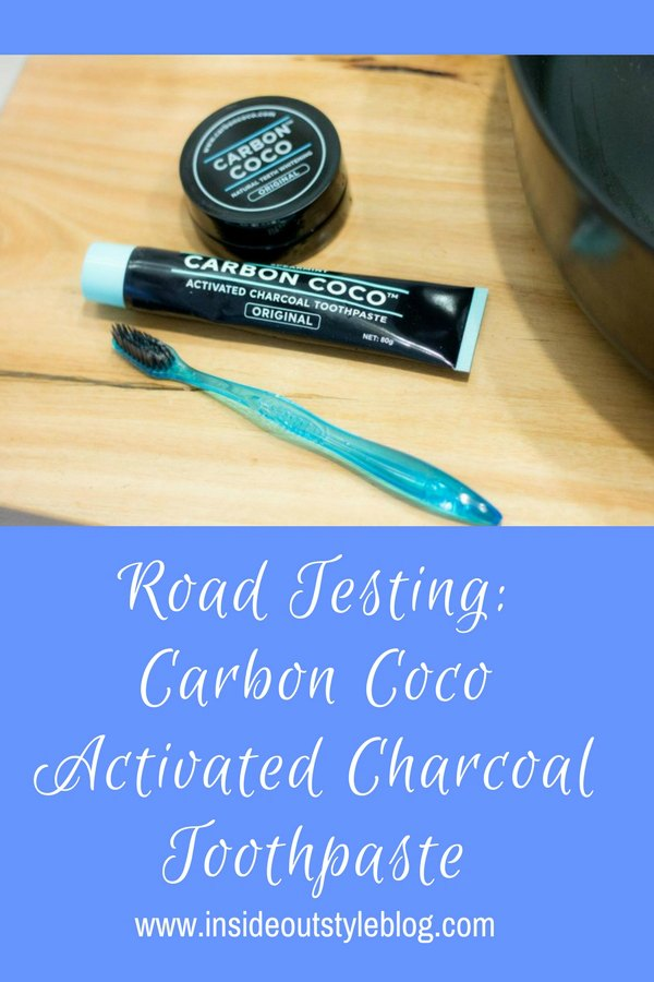 Road Testing: Carbon Coco Activated Charcoal Toothpaste