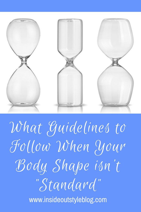 "What Guidelines to Follow When Your Body Shape isn't ""Standard"" - Discover the body shape equation"