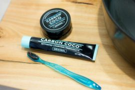 Road Testing Carbon Coco Charcoal Toothpaste
