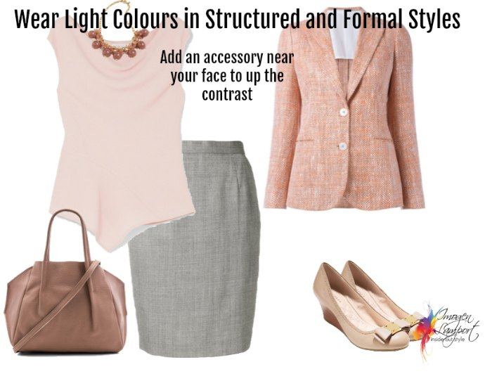 How to look powerful in the workplace when the traditional business colours don't flatter you