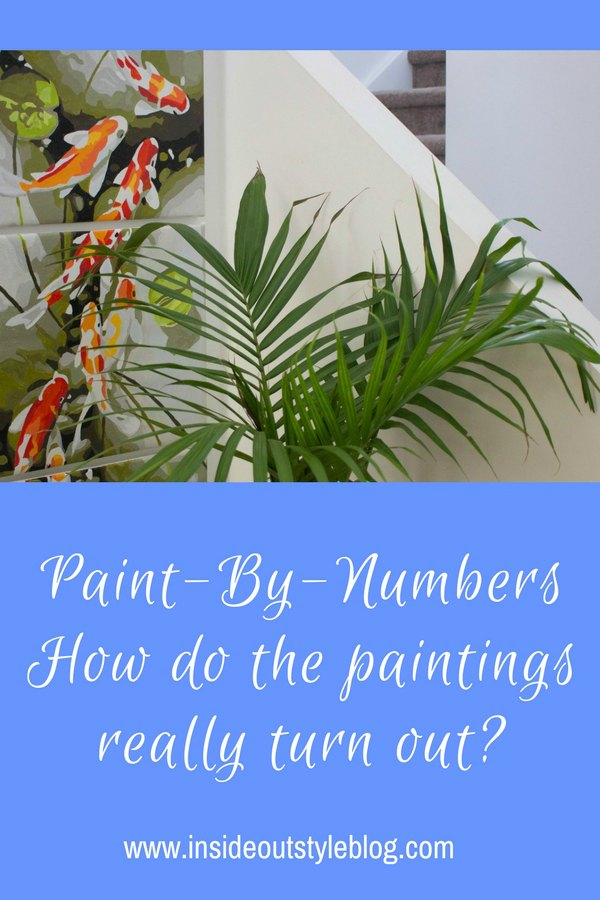 Paint by numbers for adults - experience and review - see how they turn out