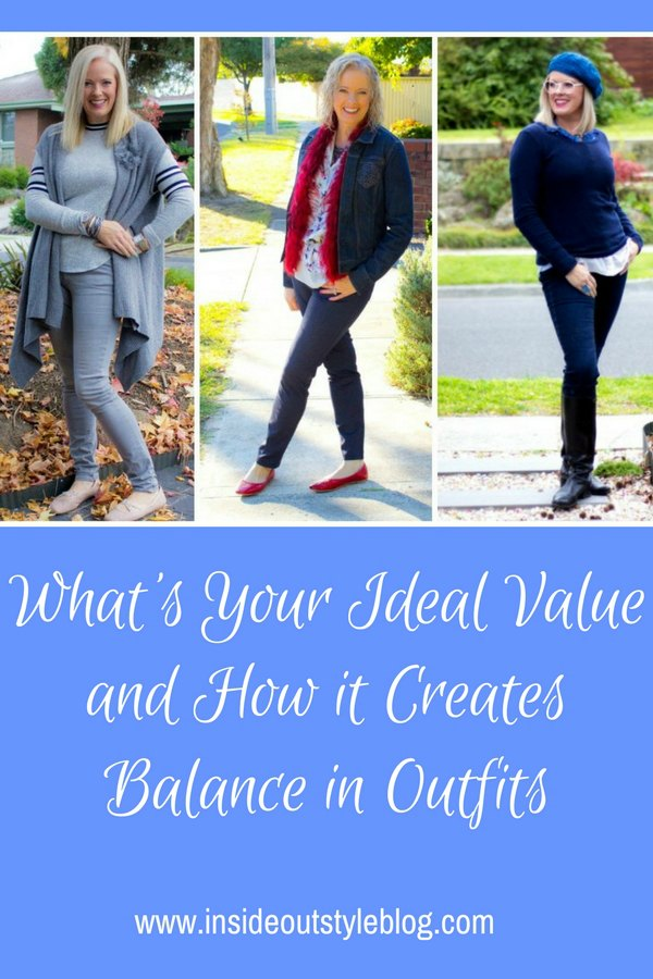 What's Your Ideal Value and How it Creates Balance in Outfits