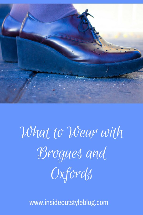 What to wear with brogues and oxfords