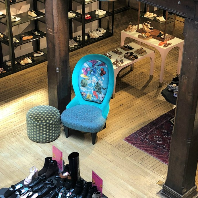 Liberty of London Shoes hall