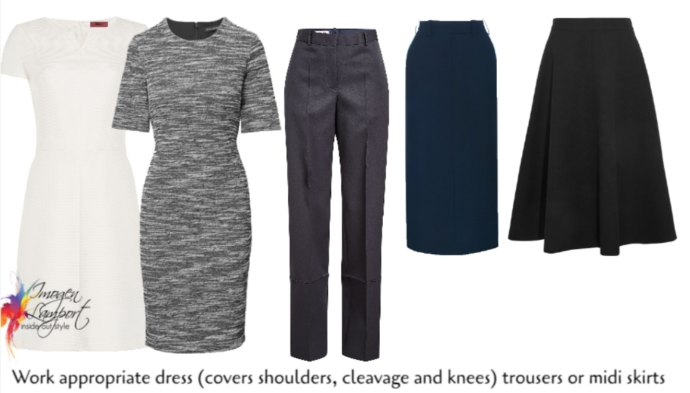What to wear to work in a conservative, hot and humid environment