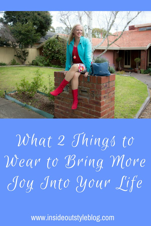 What 2 Things to Wear to Bring More Joy Into Your Life