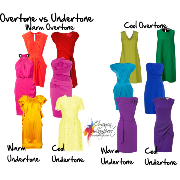 Choosing colour -undertone and overtone