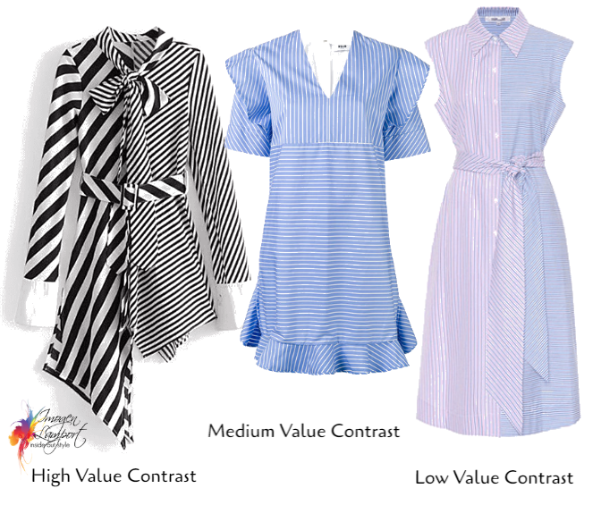How to Choose Prints and Patterns to Work with Your Value and Colour Contrast