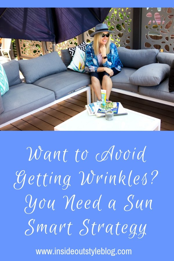 Want to Avoid Getting Wrinkles? You Need a Sun Smart Strategy