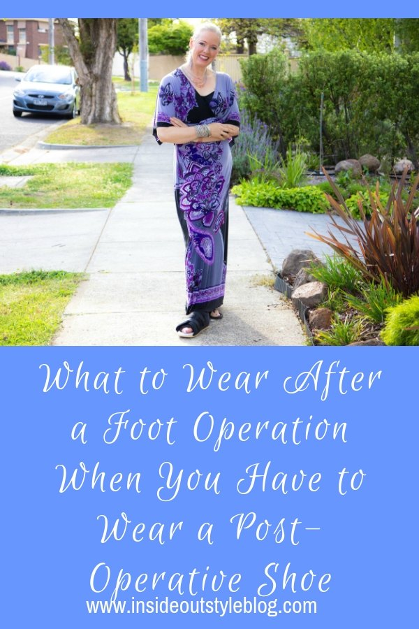 What to Wear After a Foot Operation When You Have to Wear a Post-Operative Shoe