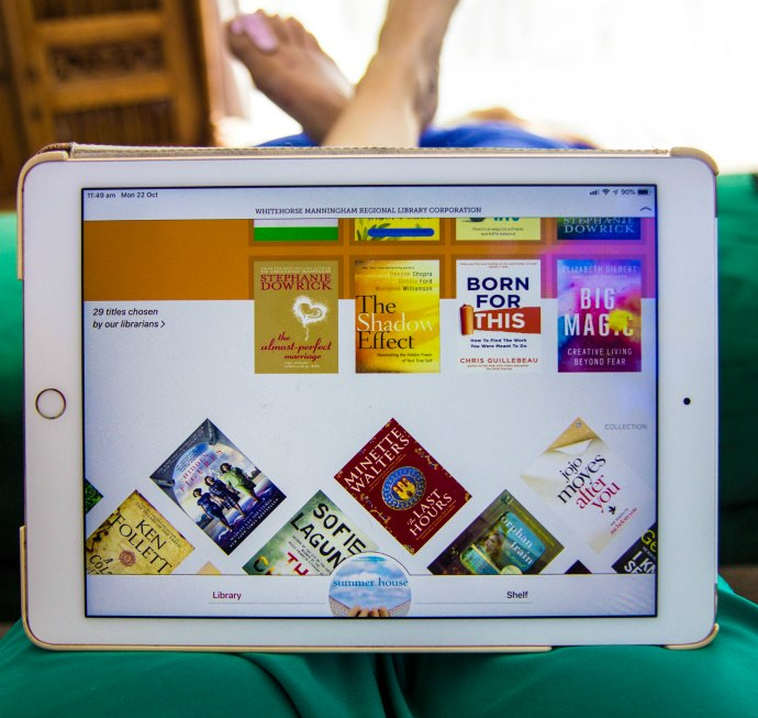 Borrow ebooks and audiobooks from your local library digitally - read them on your tablet - the best reading apps