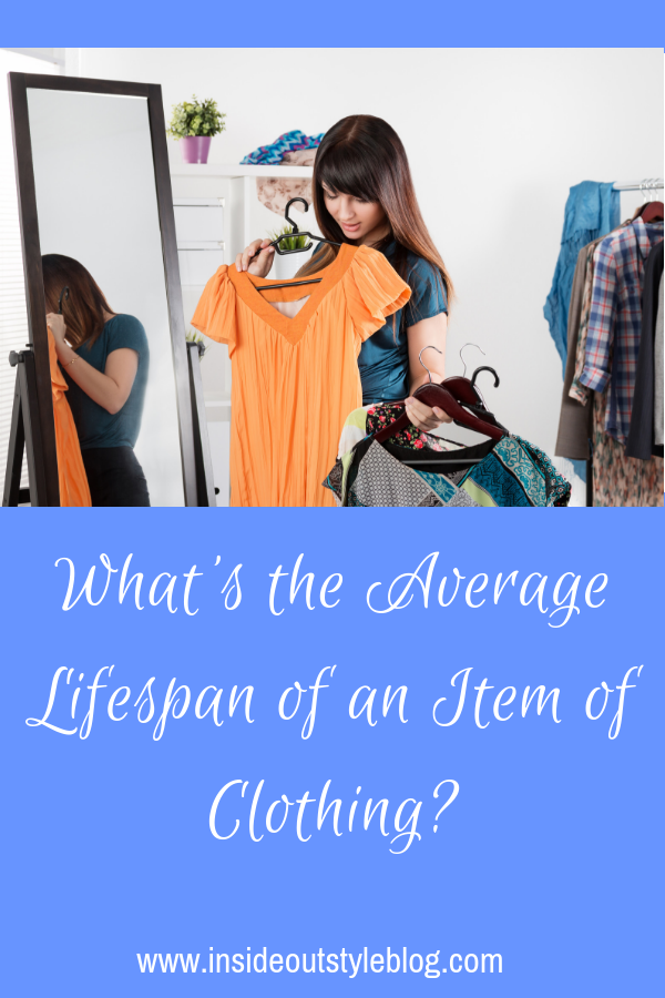 What's the Average Lifespan of an Item of Clothing? Why do we keep some stuff so long? What do we get rid of most quickly?