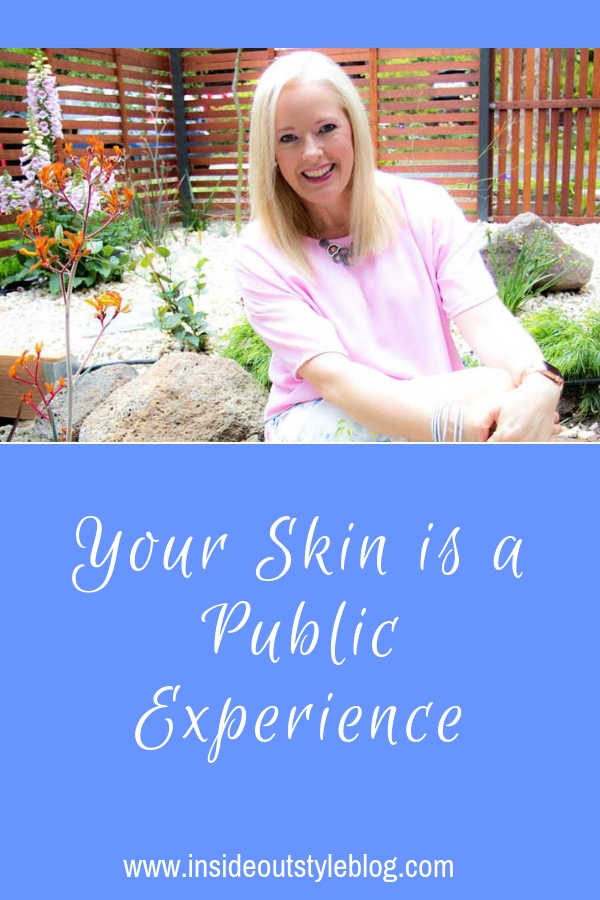 Your Skin is a Public Experience - it's part of your appearance and people react to it - find out how you can improve it just with your clothing choices