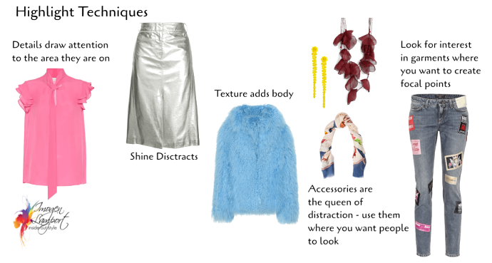 Tricks of the Clothing Magician - How to Highlight and Camouflage for Figure Flattery