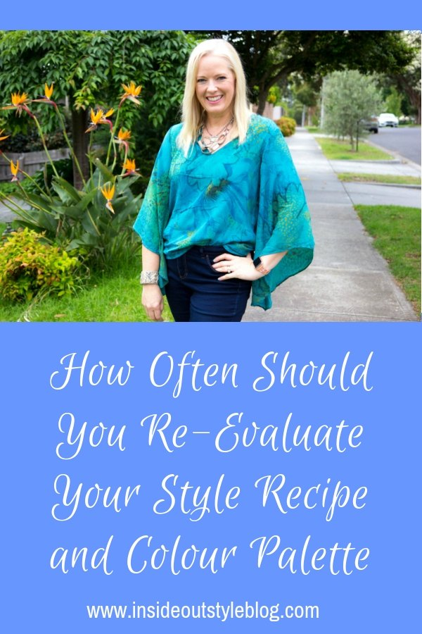 How Often Should You Re-Evaluate Your Style Recipe and Colour Palette