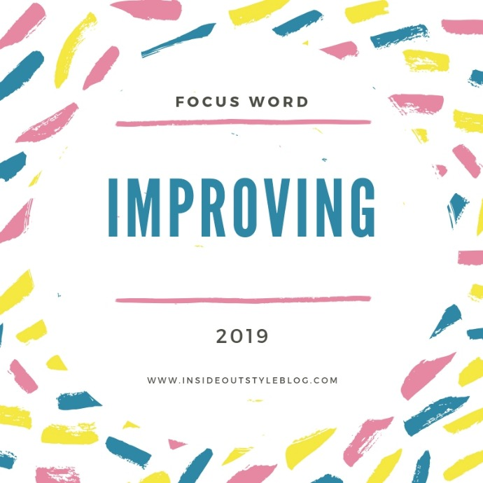 Focus word for 2019 for Inside Out style