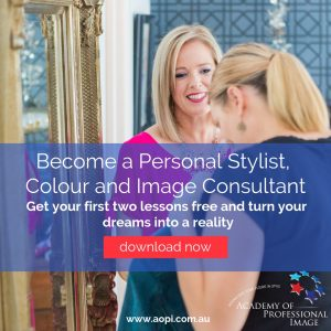 Become a personal stylist, colour and image consultant with comprehensive online and classroom training program - based in Melbourne Australia