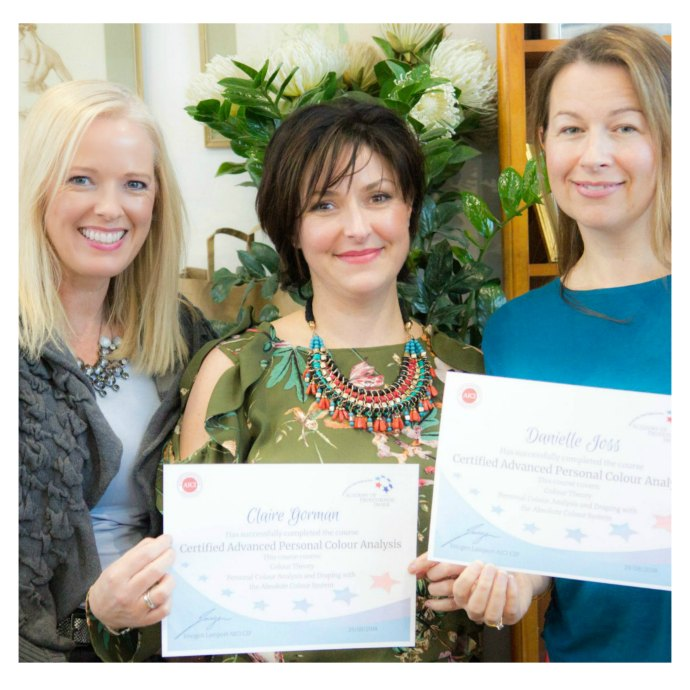 Become a certified personal stylist, image and colour consultant with the Academy of Professional Image www.aopi.com.au online and classroom training available