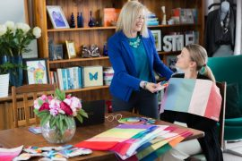 Learn how to do personal colour analysis with the 18 direction Absolute Colour System with Imogen Lamport www.aopi.com.au