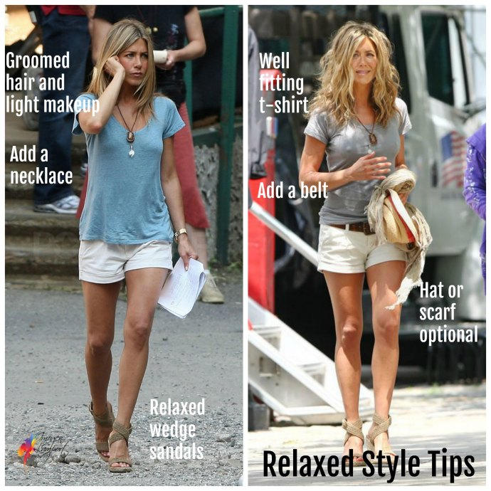 How to look and feel relaxed but look stylish - tips from Jennifer Aniston