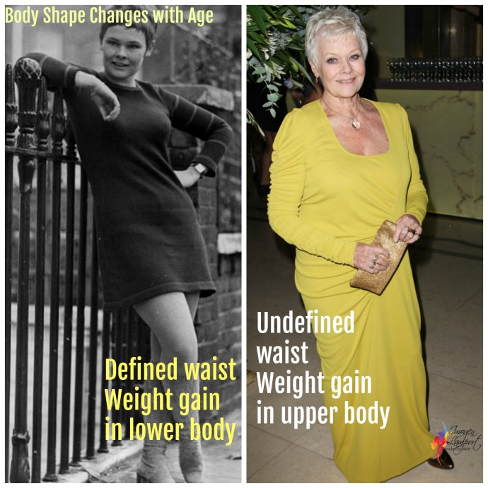 How ageing affects your style, body shape and colouring and what you may want to consider
