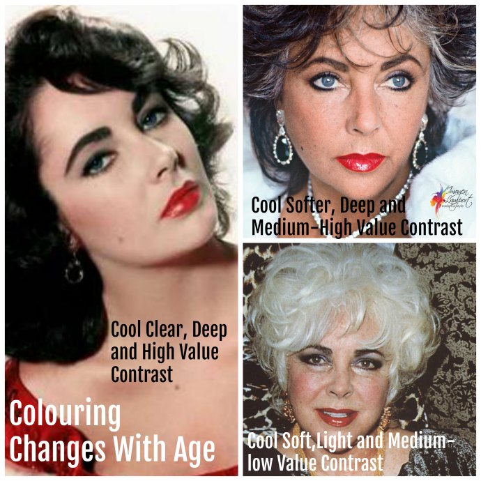 how does aging affect your style? With changes in your colouring to your body shape there are many aspects to these changes