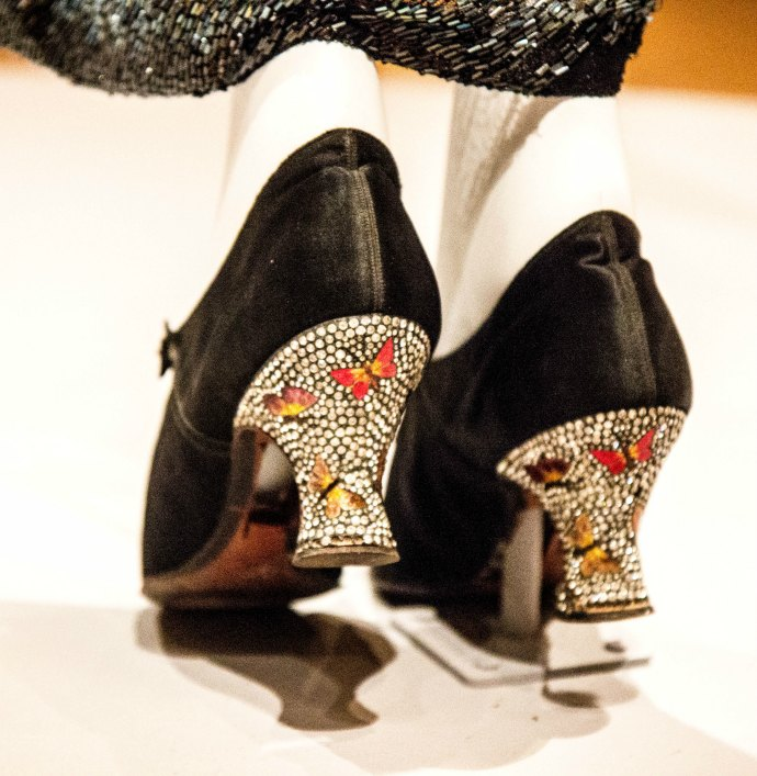 Krystyna Campbell-Pretty Fashion Gift Exhibition at the NGV Melbourne - 1920s heels