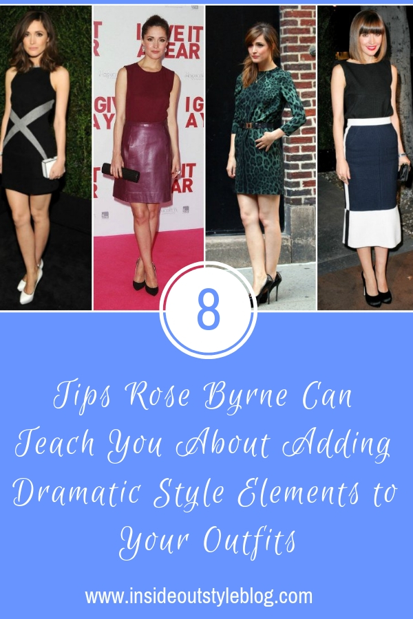 8 Tips Rose Byrne Can Teach You About Adding Dramatic Style Elements to Your Outfits