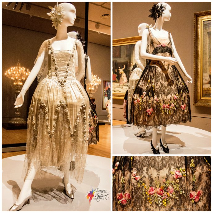 Krystyna Campbell-Pretty Fashion Gift Exhibition at the NGV Melbourne - 1920s gowns by Boue Soeurs Paris