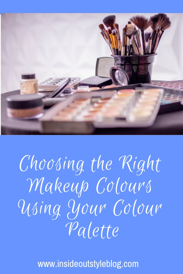 Choosing the Right Makeup Colours Using Your Colour Palette