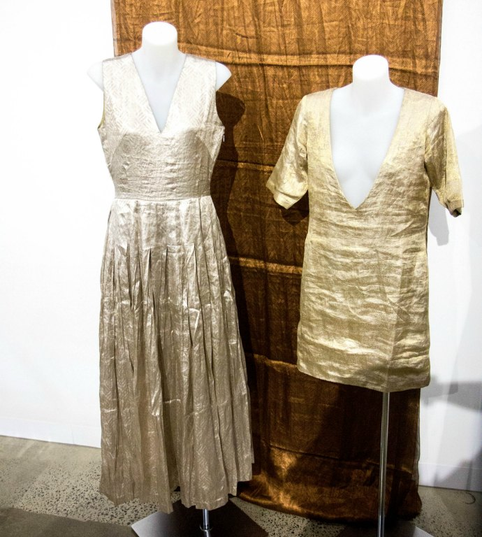 Hemang Agrawal designs at Threads of India exhibition LCI Melbourne