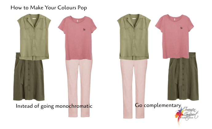 How to make more muted colours look brighter and more exciting