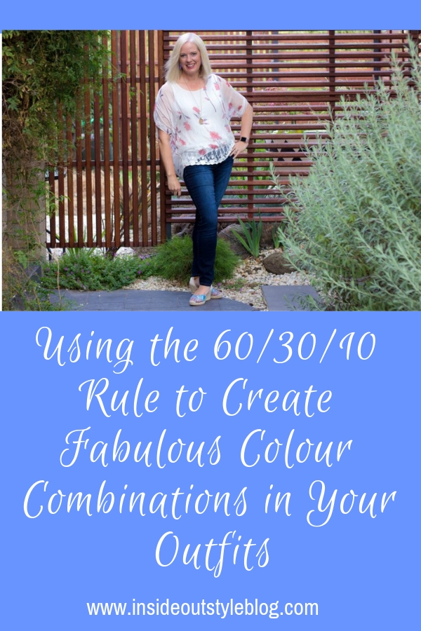 Using the 60/30/10 Rule to Create Fabulous Colour Combinations in Your Outfits