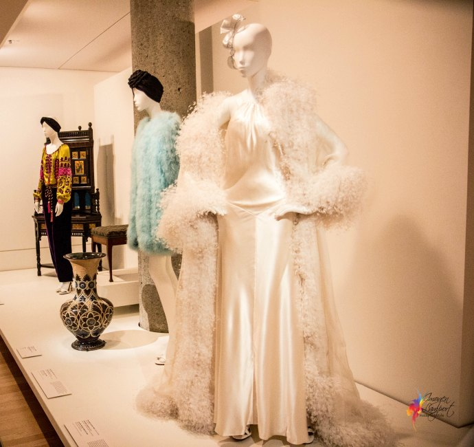 Krystyna Campbell-Pretty Fashion Gift Exhibition at the NGV Melbourne - YSL