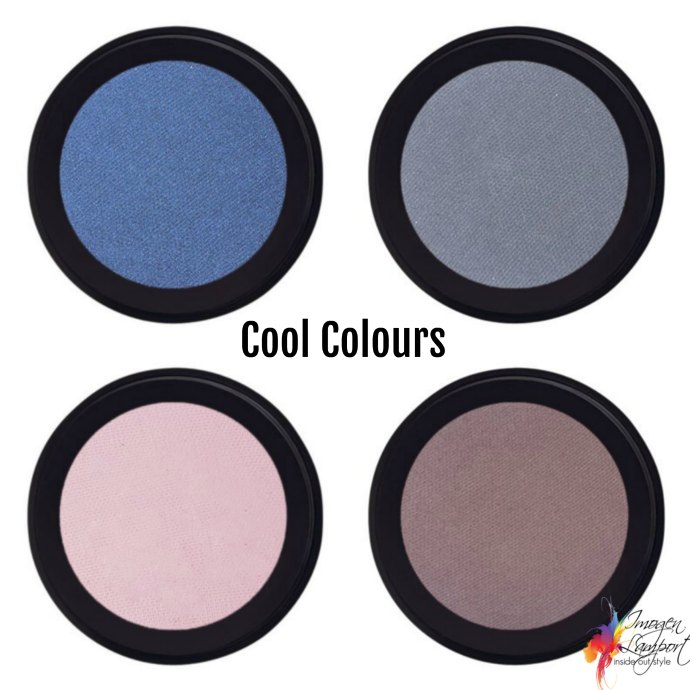 How to choose eyeshadow colours - cool eyeshadow colours