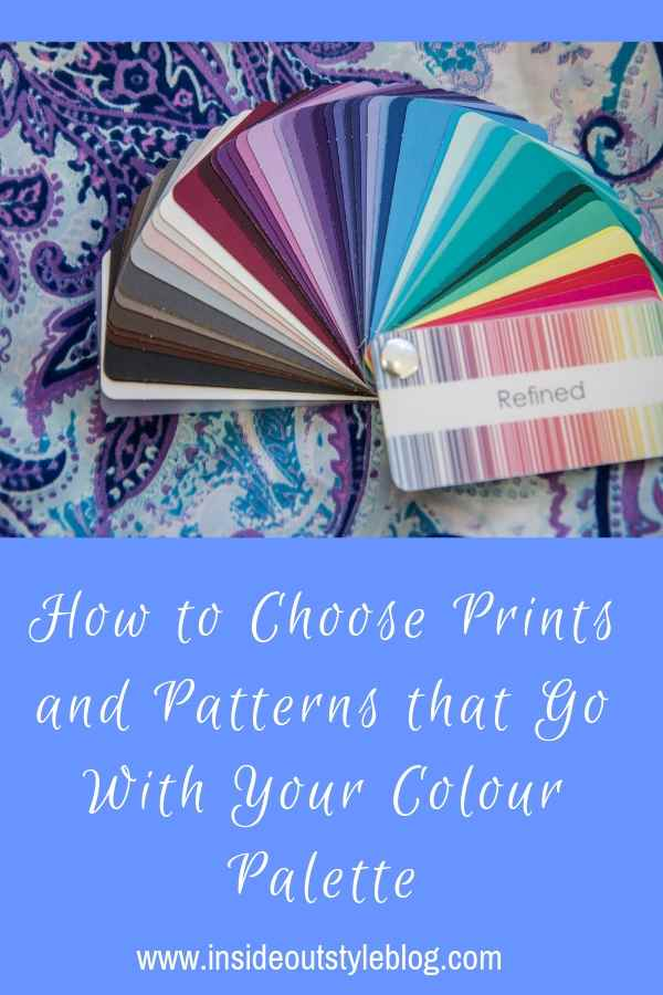 How to Choose Prints and Patterns that Go With Your Colour Palette