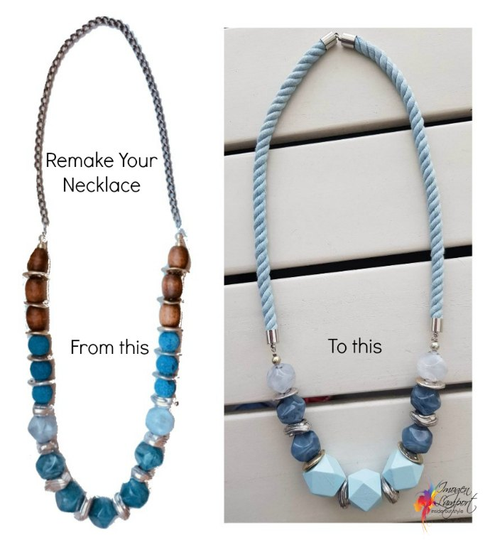 4 Easy Ways to Revamp Your Jewellery - remake your necklace
