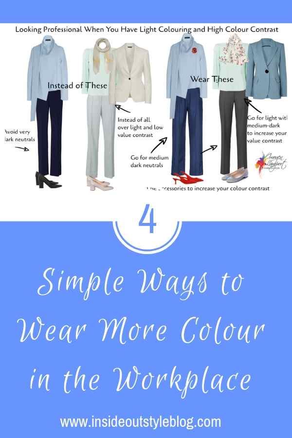 4 Simple Ways to Wear More Colour in the Workplace