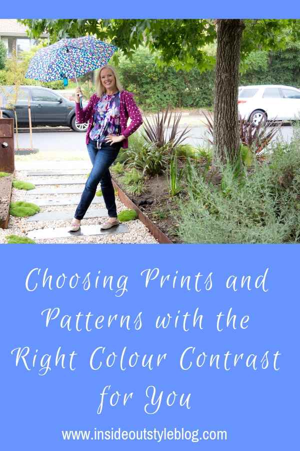 Choosing Prints and Patterns with the Right Colour Contrast for You